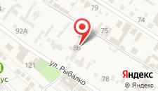 Гостиница Миратель на карте