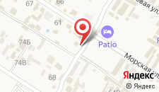 Гостевой дом Мираж на карте