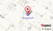 Отель ROZENTAL на карте