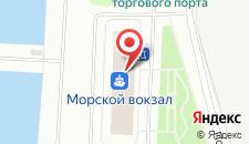 Гостиница Морская на карте