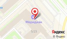 Отель Меридиан на карте