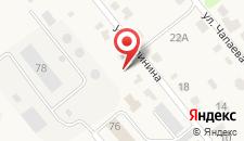 Гостиница Сафоновотурист на карте