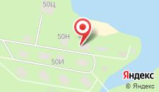 База отдыха Голубой Факел на карте