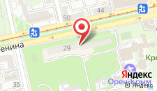 Пансионат Алмазный на карте
