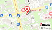 Отель Апогей на карте