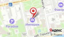Отель Империя на карте