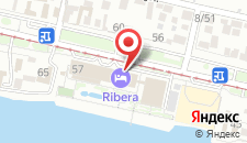 Гостиница Ribera Resort&SPA на карте