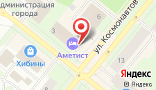 Гостиница Аметист на карте