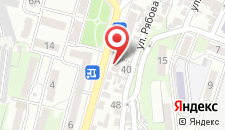 Гостиница Форт-35 на карте