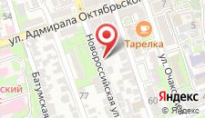 Отель Зодиак на карте