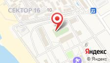 Туристско-оздоровительный комплекс Саксония на карте