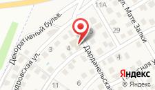 Гостевой дом Максимова дача на карте