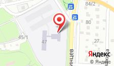 Отель Лот на карте