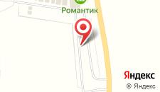 Отель Романтик на карте