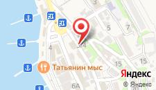 Гостиница Гомер на карте