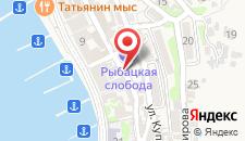 Гостиница Рыбацкая слобода на карте