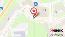 Отель Гостиница Северная на карте