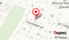 Усадьба Бельбек на карте