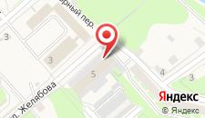 Гостиница Мста на карте