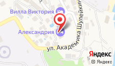 Отель Александрия на карте