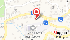 Гостиница Сергей на карте
