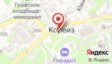 Отель Воронцовский на карте