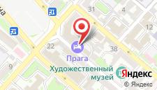 Мини-отель Прага на карте