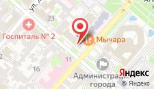 Гостиница Центр-Отель на карте