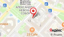 Отель Серовъ на карте