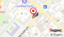 Хостел Центр на карте