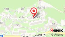 Гостевой дом Анжелика на карте