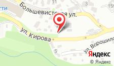 Отельный комплекс Поляна Сказок на карте