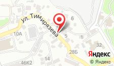 Бутик-Отель На Тимирязева на карте