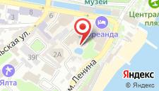Отель Oreanda на карте