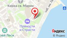 Отель Вилла София на карте