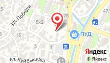 Гостиница Анна на карте