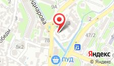 Пансионат Прага на карте