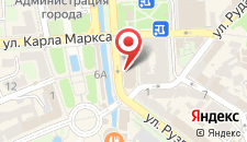 Гостиница Крым на карте