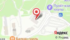 Мини-отель Медовый месяц на карте