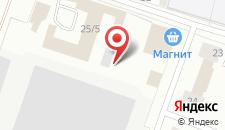 Гостиница Терема на карте