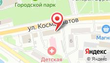 Отель Вязьма на карте