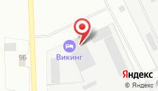 Хостел Викинг на карте