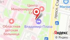 Гостиница Владимир-Плаза на карте