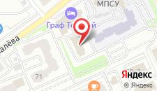 Гостиница Граф Толстой на карте