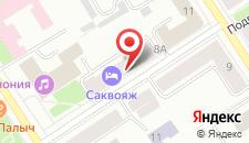 Отель Гостеприимство на карте