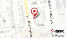 Апартаменты Kvartira 1K на карте