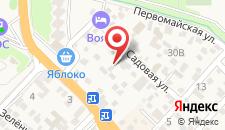 Гостиница Номера на Садовой на карте