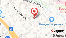 Гостевой дом Людмила на карте