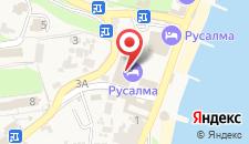 Отель Ателика Морской уголок на карте
