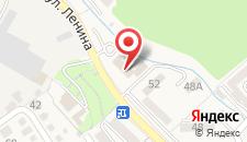 Отель Танаис на карте